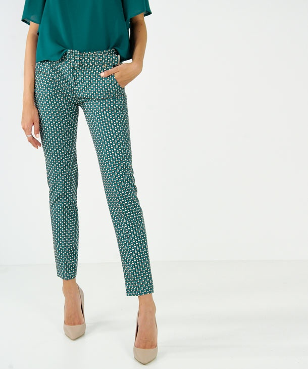 PANTALONE STAMPA OPTICAL HOZONE