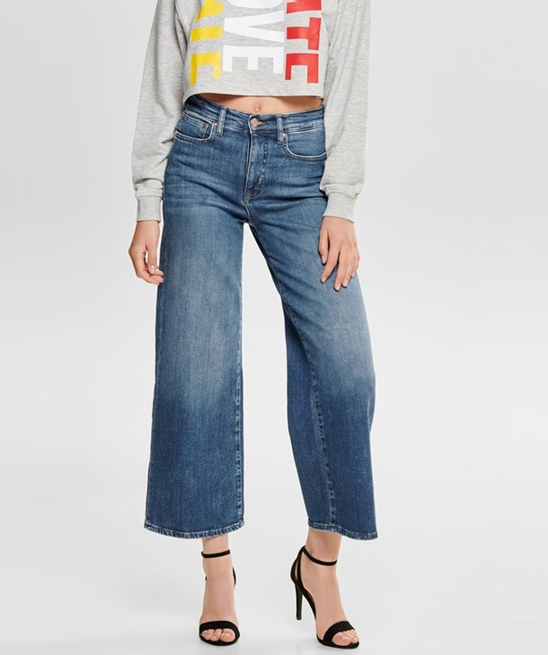 JEANS CROPPED ONLY