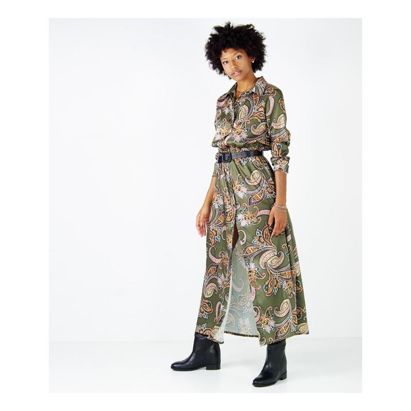 huge selection of 822bd e8059 ABITO STAMPA CACHEMIRE HOZONE - Tank Fashion