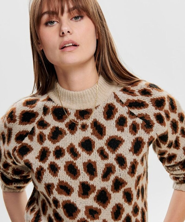 MAGLIONE ANIMALIER ONLY