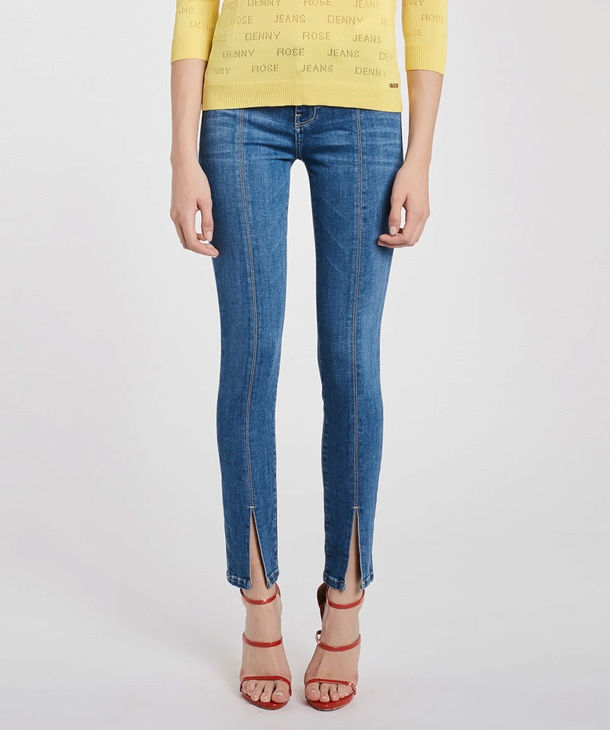 JEANS CON CUCITURE DENNY ROSE