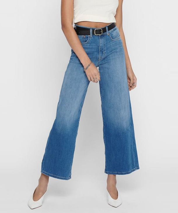 JEANS CROPPED A VITA ALTA ONLY