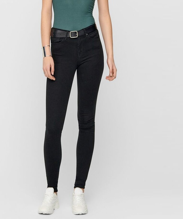 JEANS SKINNY BLACK ONLY