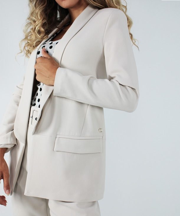 BLAZER IN VISCOSA HOZONE