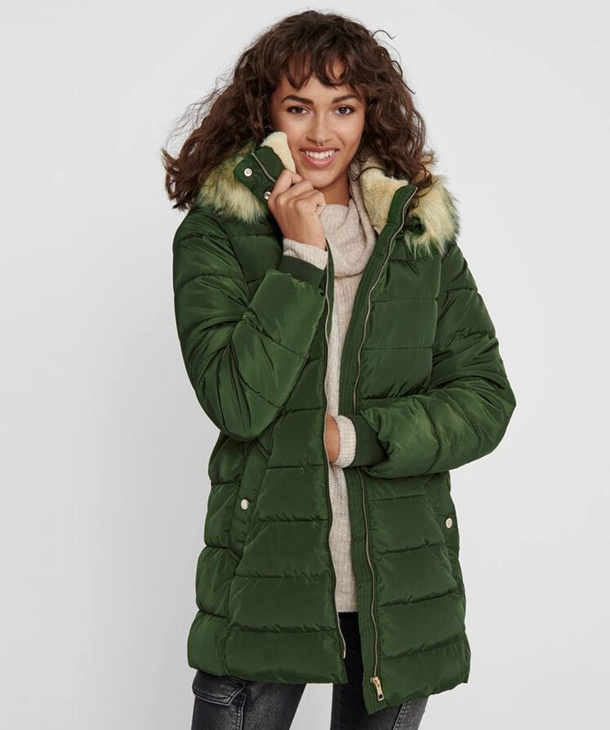 PARKA IN TESSUTO TECNICO ONLY