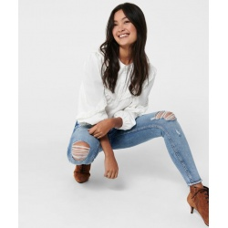 JEANS BLUSH SKINNY ONLY