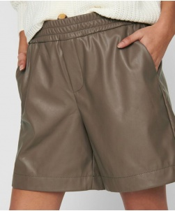 SHORTS IN ECOPELLE ONLY