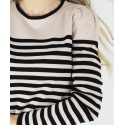 MAGLIA LUREX A RIGHE ONLY