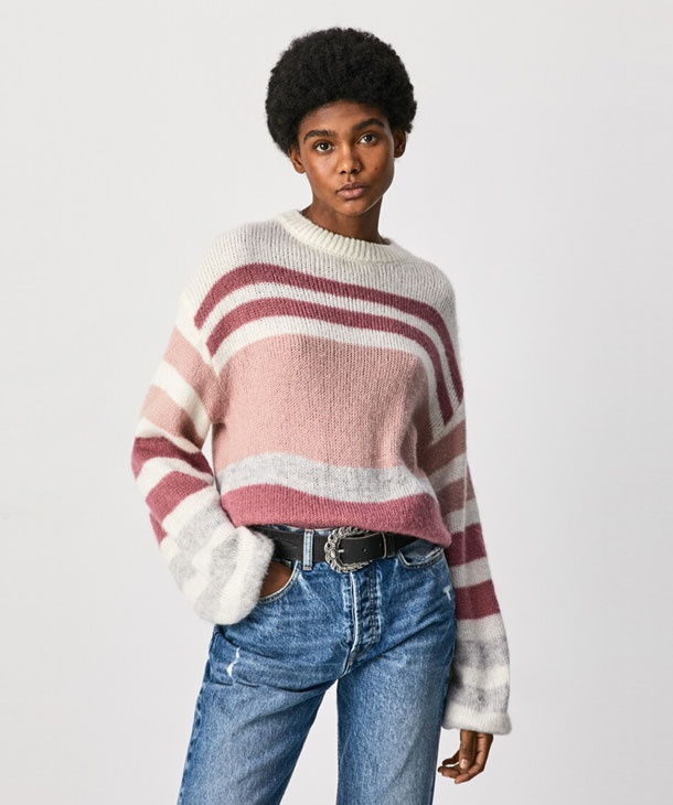 PULLOVER A RIGHE PEPE JEANS