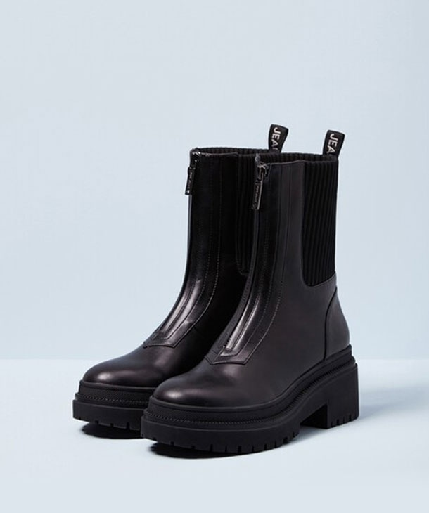BOOTS CON TACCO ROCK PEPE JEANS